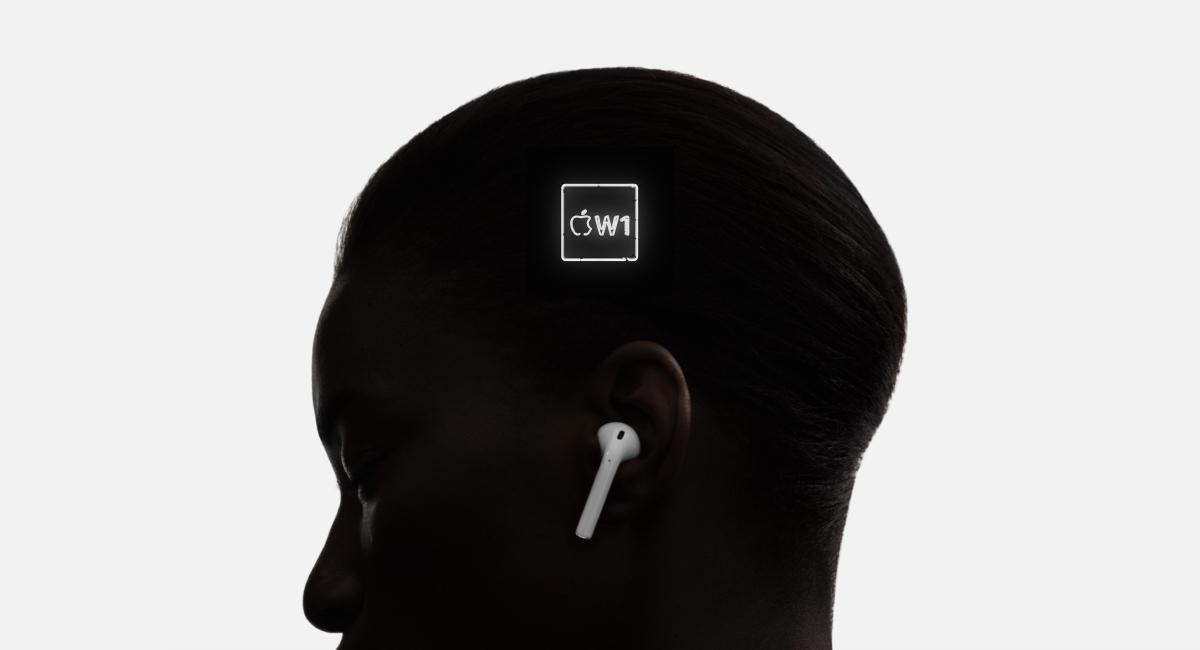 とにかく『Apple W1』がエモいのなんのって。