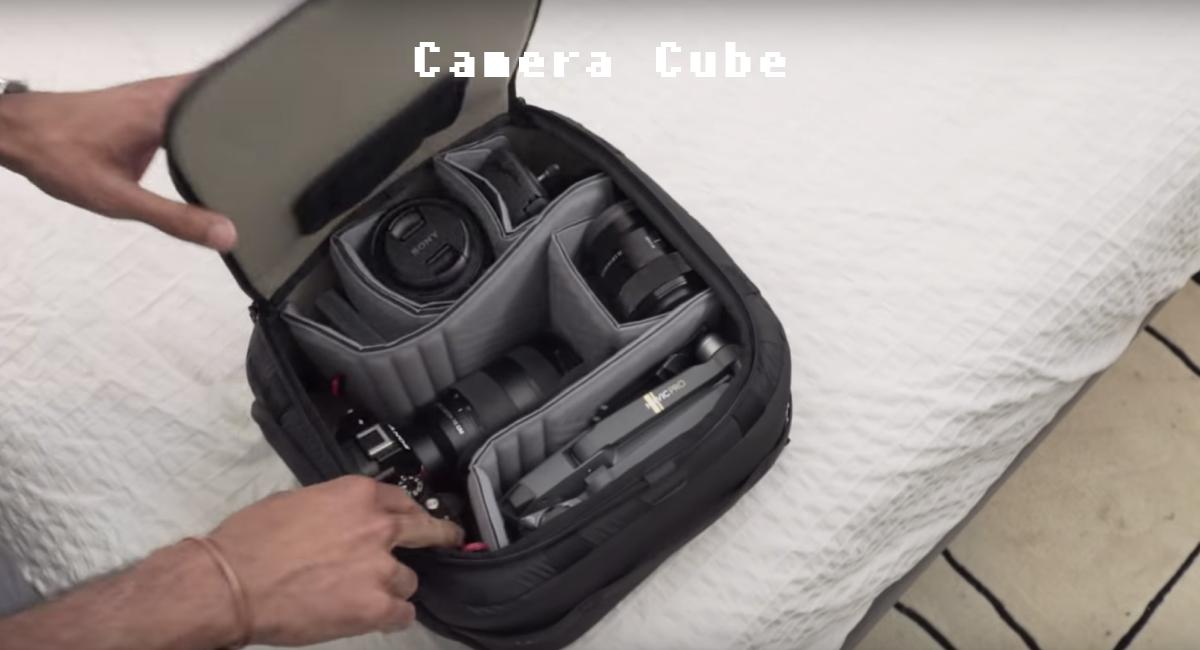 『Camera Cube』単体でもバッグになる