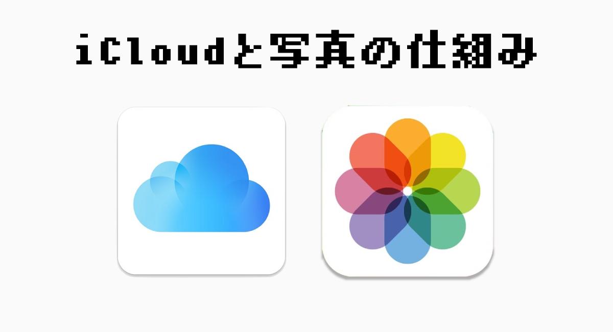iCloudに保存される画像の仕組み