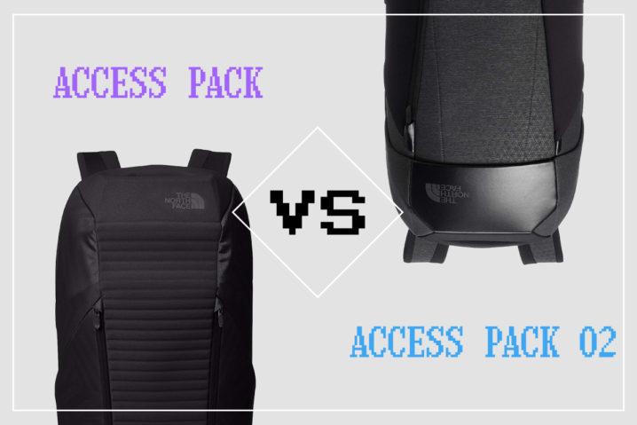 新旧比較!『ACCESS PACK O2』vs『ACCESS PACK』 in THE NORTH FACE—意外と旧モデルのほうがアリな理由