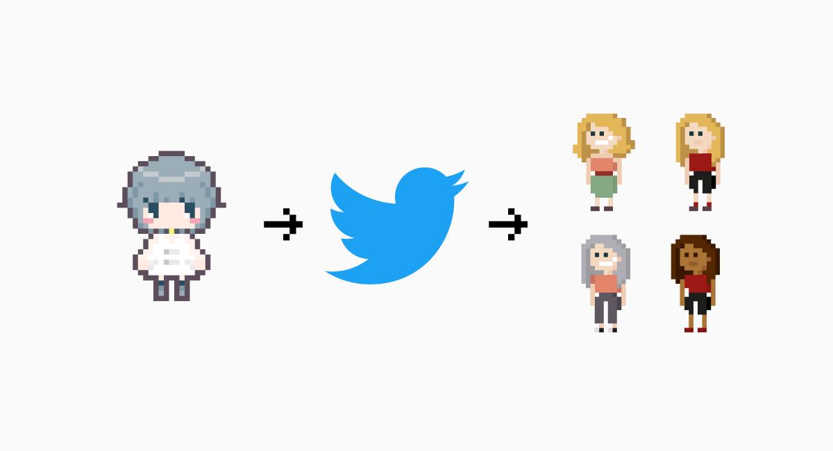 Twitterによる双方向コミュニケーション。