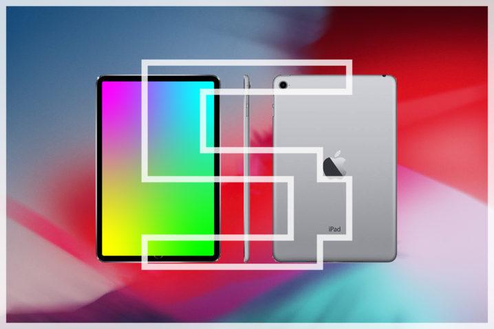 妄想職人降臨。勝手に『iPad mini 5』をイラレで作ったよ!