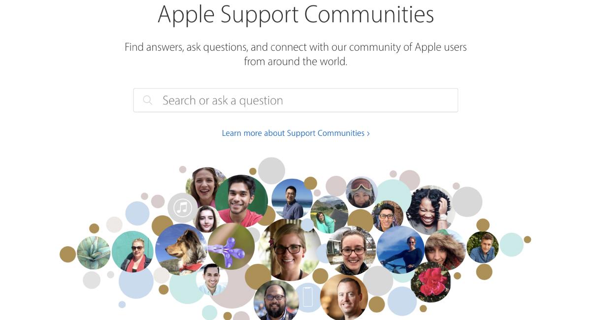 海外のAppleサポートコミュニティでのユーザーの声