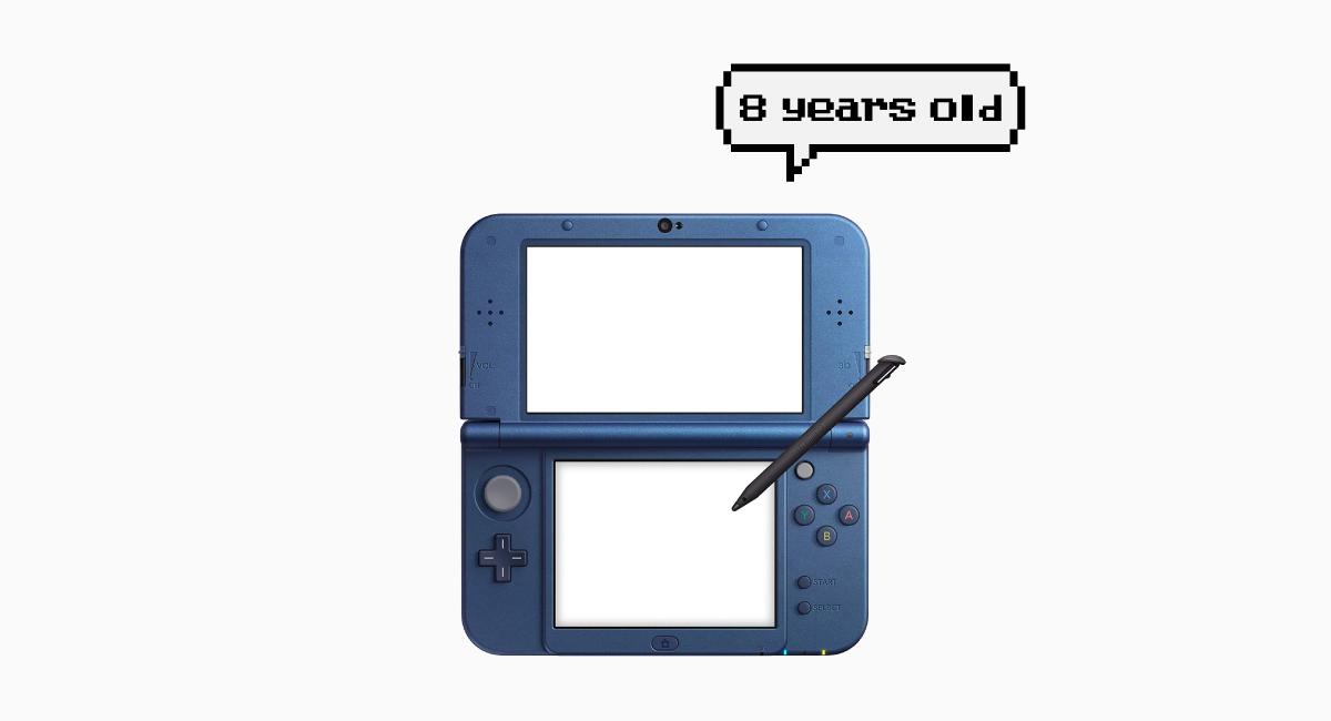 3DSはすでに8年選手