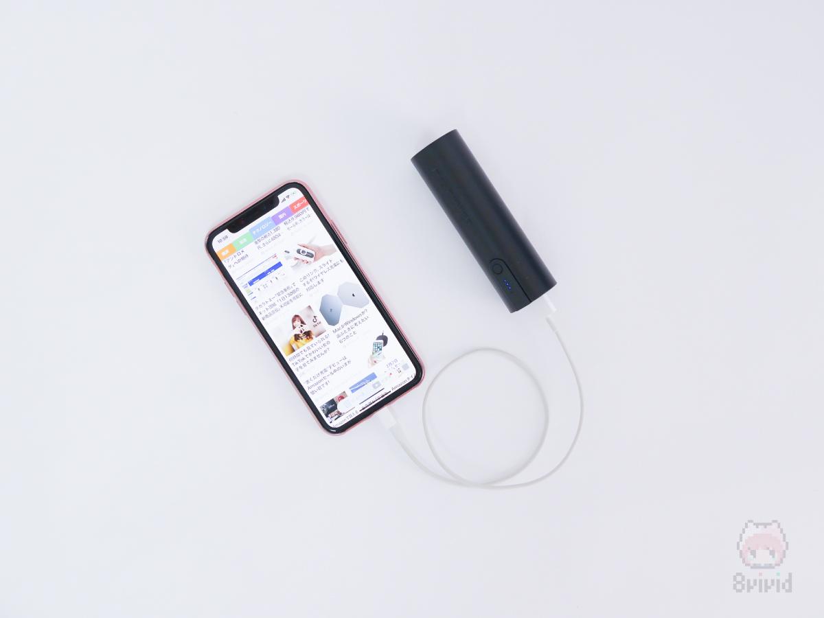 iPhone XSにもちょうどいいサイズ感。