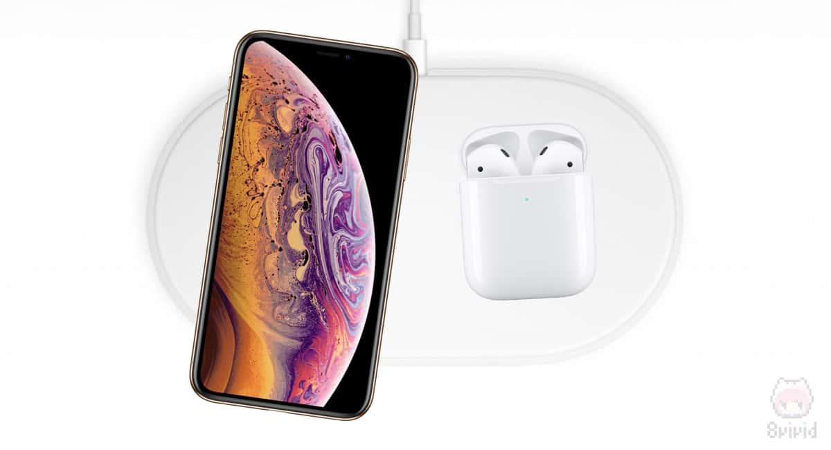 AirPowerで、iPhone XSと新型AirPodsの同時充電ができる予定…だった。