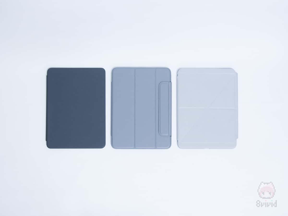 今回はiPad Pro 11インチ用ケース3つを比較。
