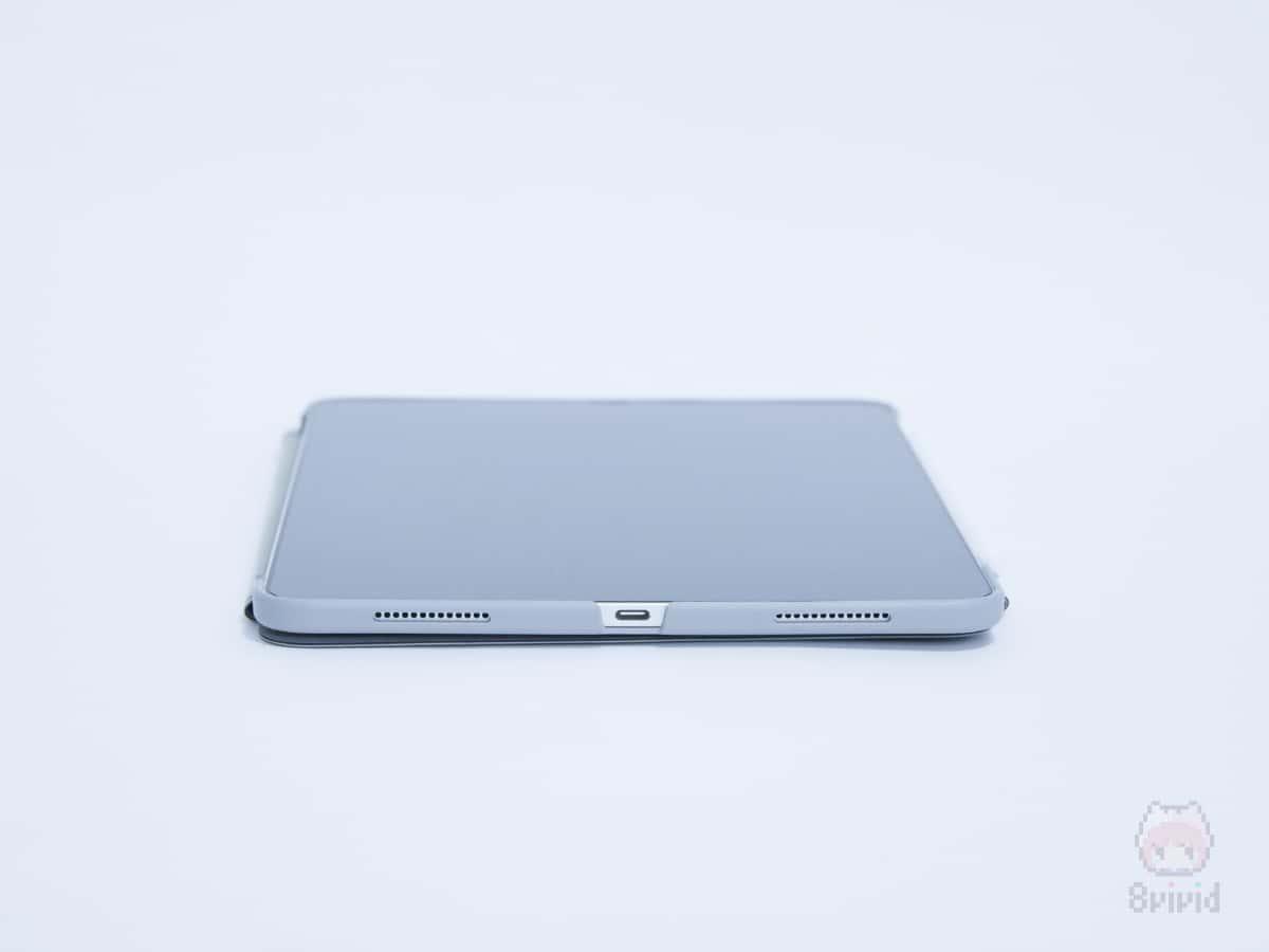VersaCover for iPad Proも側面保護バッチリ。