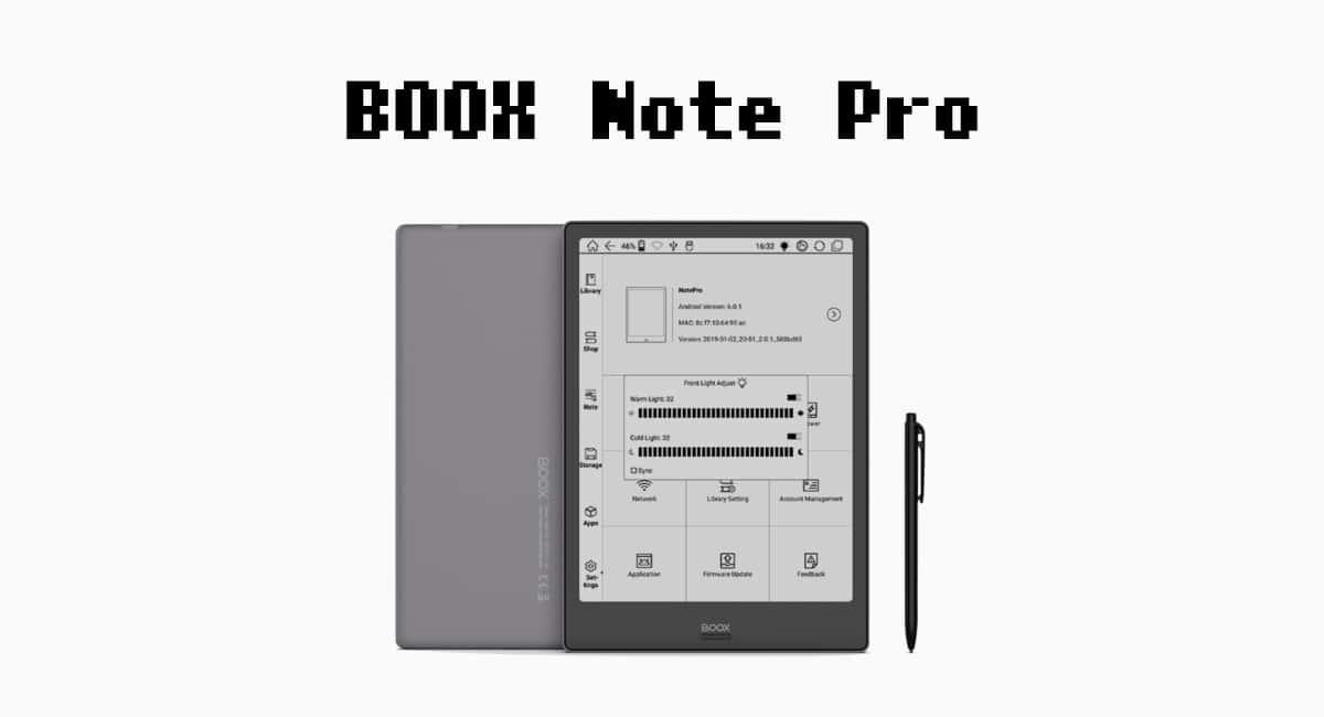 BOOX Note Proがプレオーダー開始