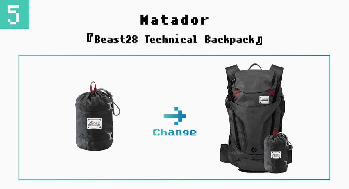 5.Matador『Beast28 Technical Backpack』