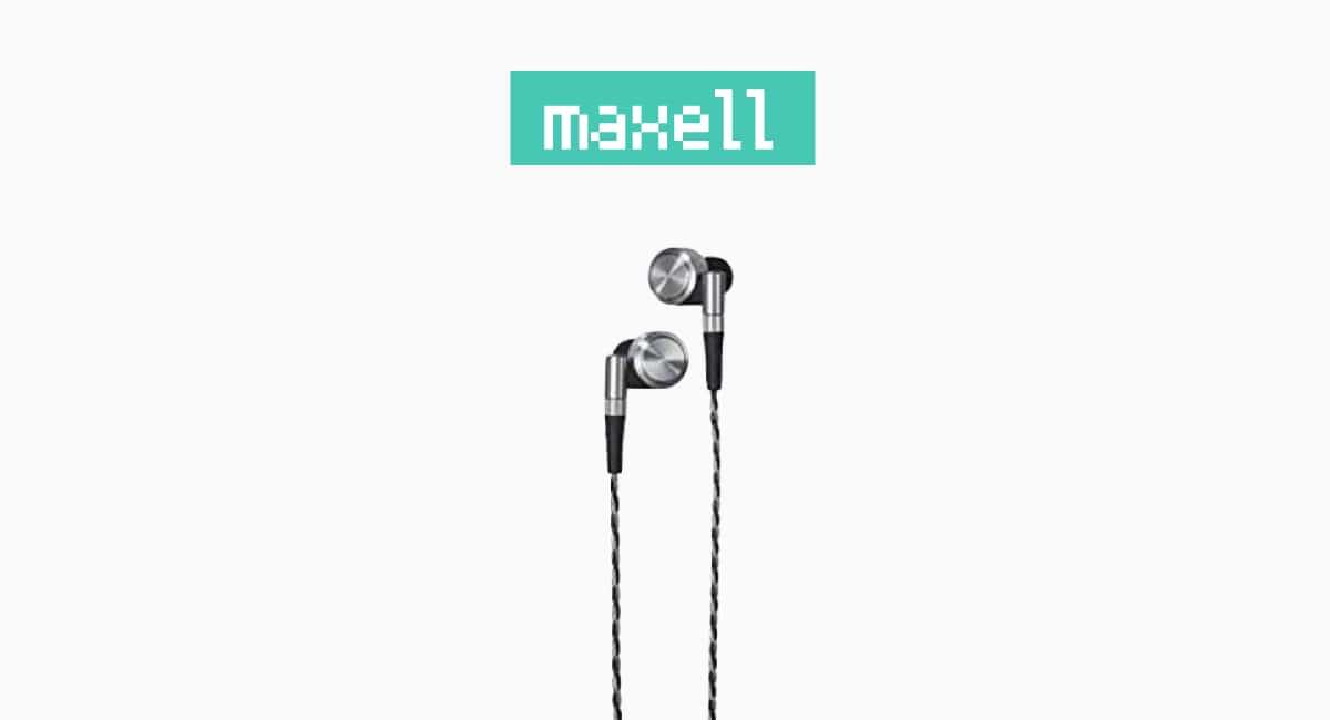 maxell – 無骨で工業製品的
