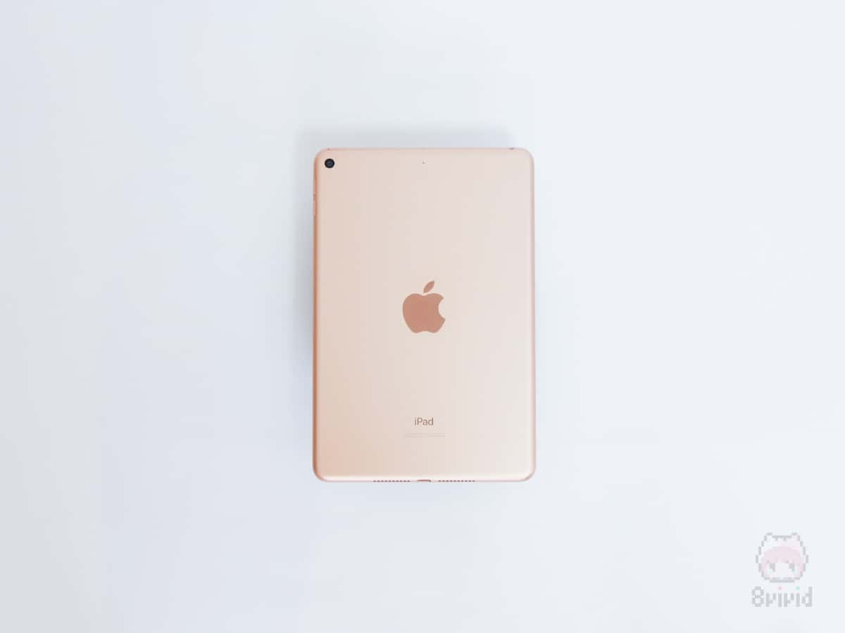 Apple『iPad mini(2019)』裏面。
