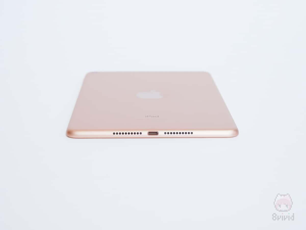 Apple『iPad mini(2019)』下側面。
