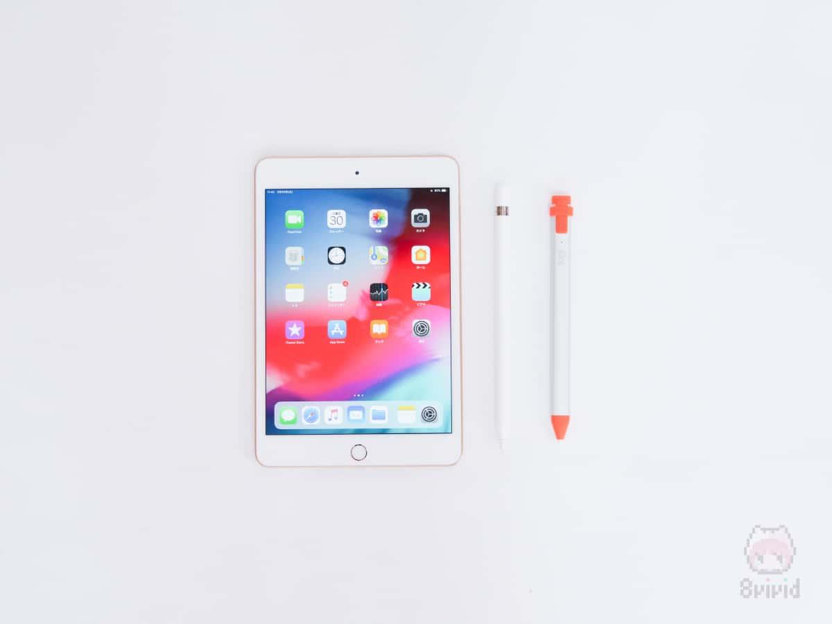 新型になって待望の『Apple Pencil』に対応。