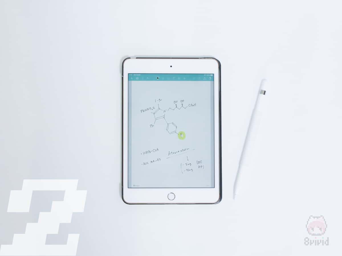 iPadには魅力的な手書きメモアプリが多い。