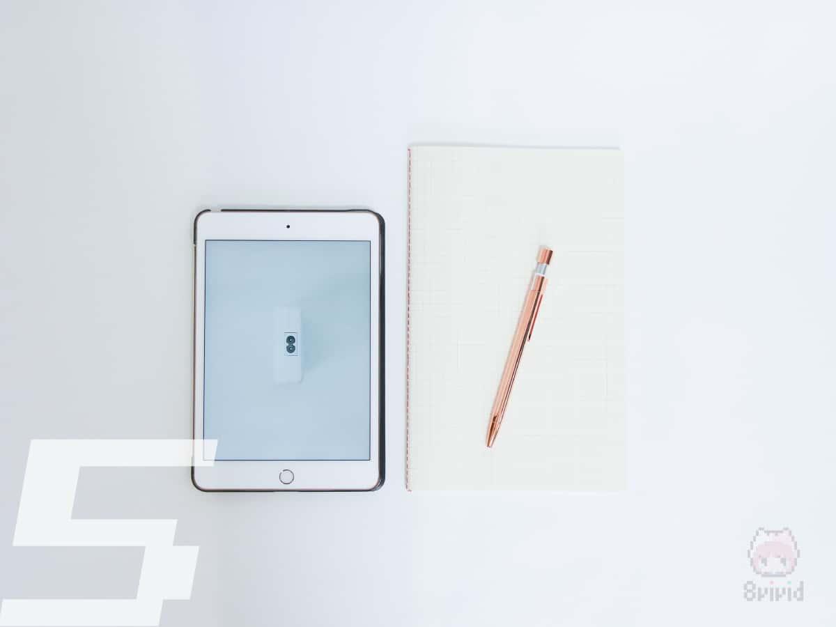 紙のノートとの両立ができる絶妙なサイズ。