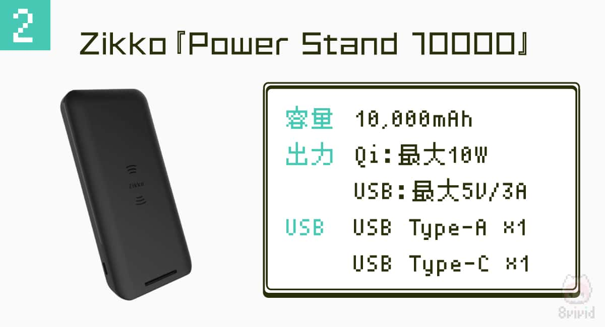 2.Zikko『Power Stand 10000』