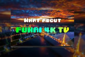 FUNAIのテレビは評判通りかヤマダで見てきた!フナイはどないだ?