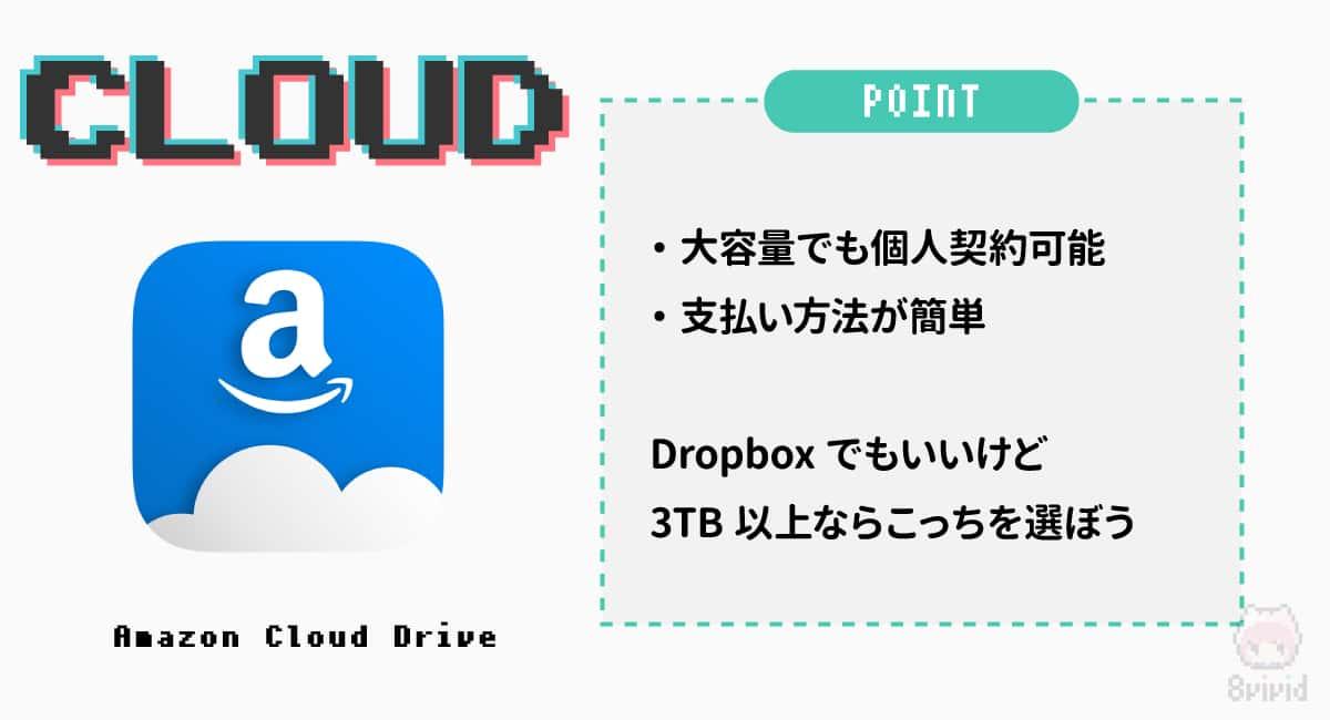 クラウドストレージ—『Amazon Cloud Drive』