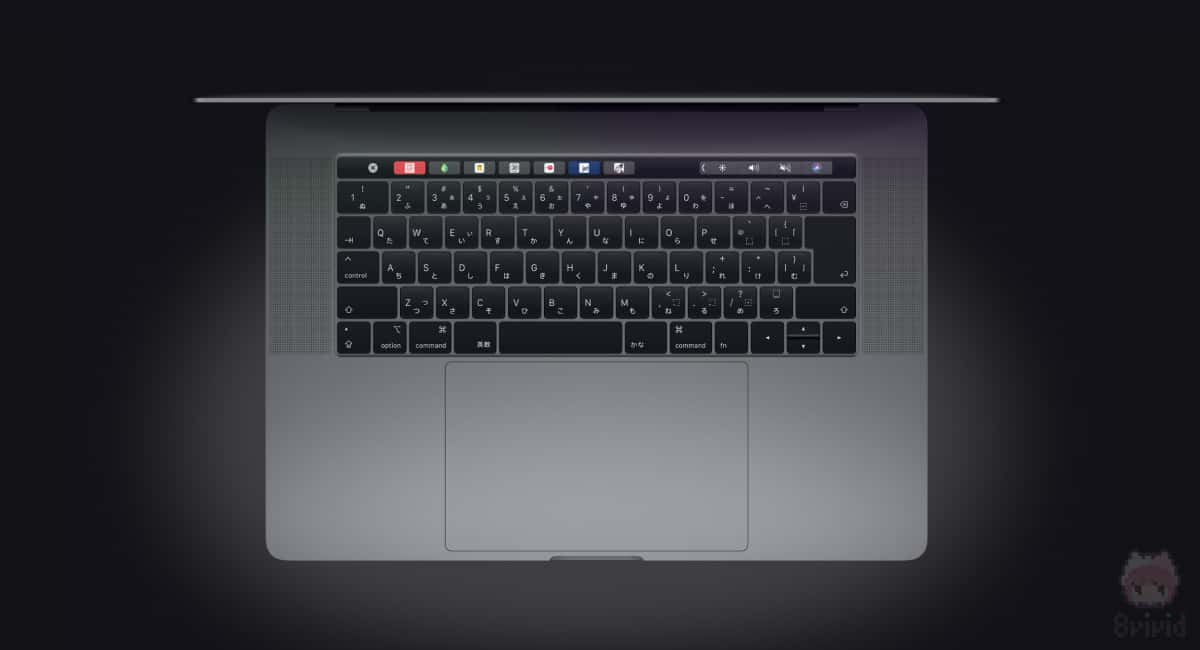 2018年モデルなら、最新のキーボードと交換らしい。