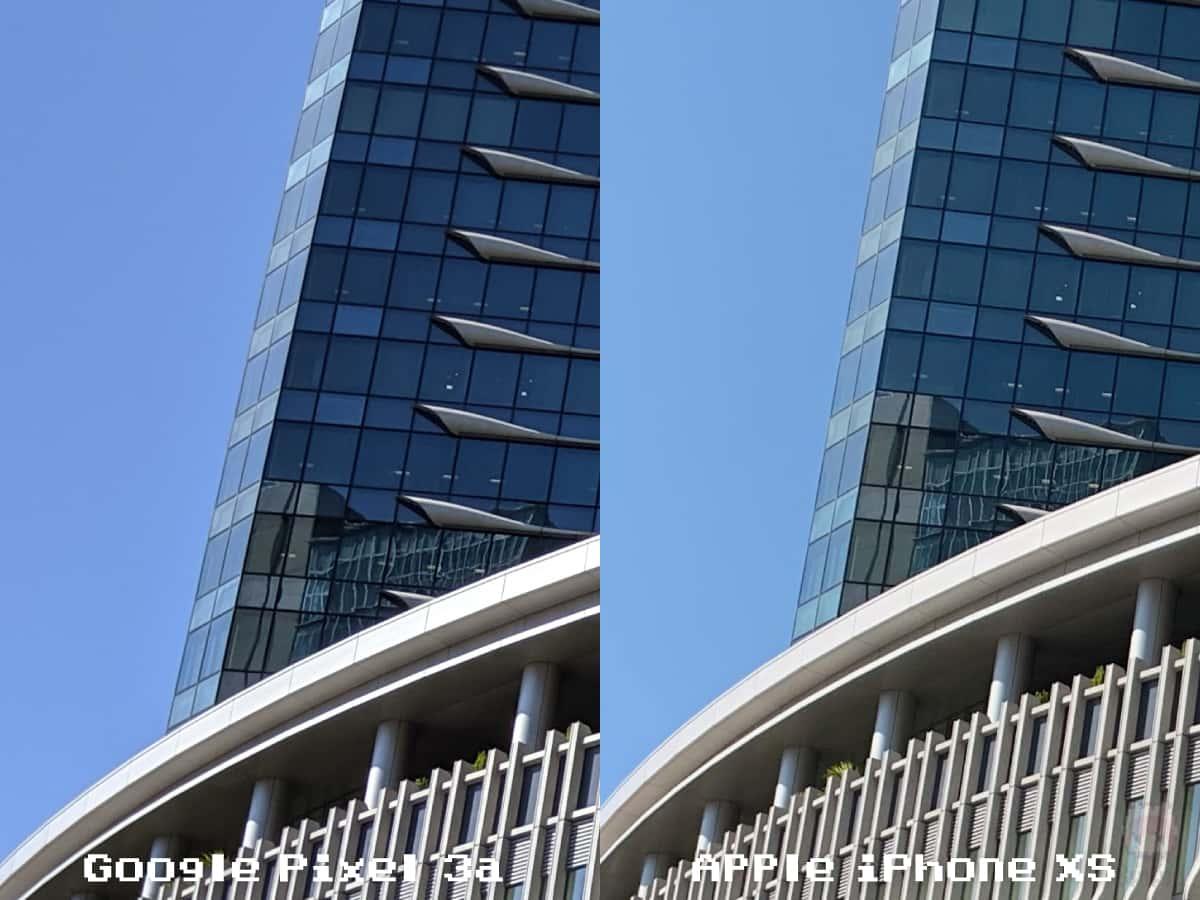 【シーン3】青空とビルとガラス