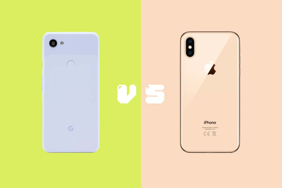 Pixel 3a vs iPhone XS 写真比較5番勝負!