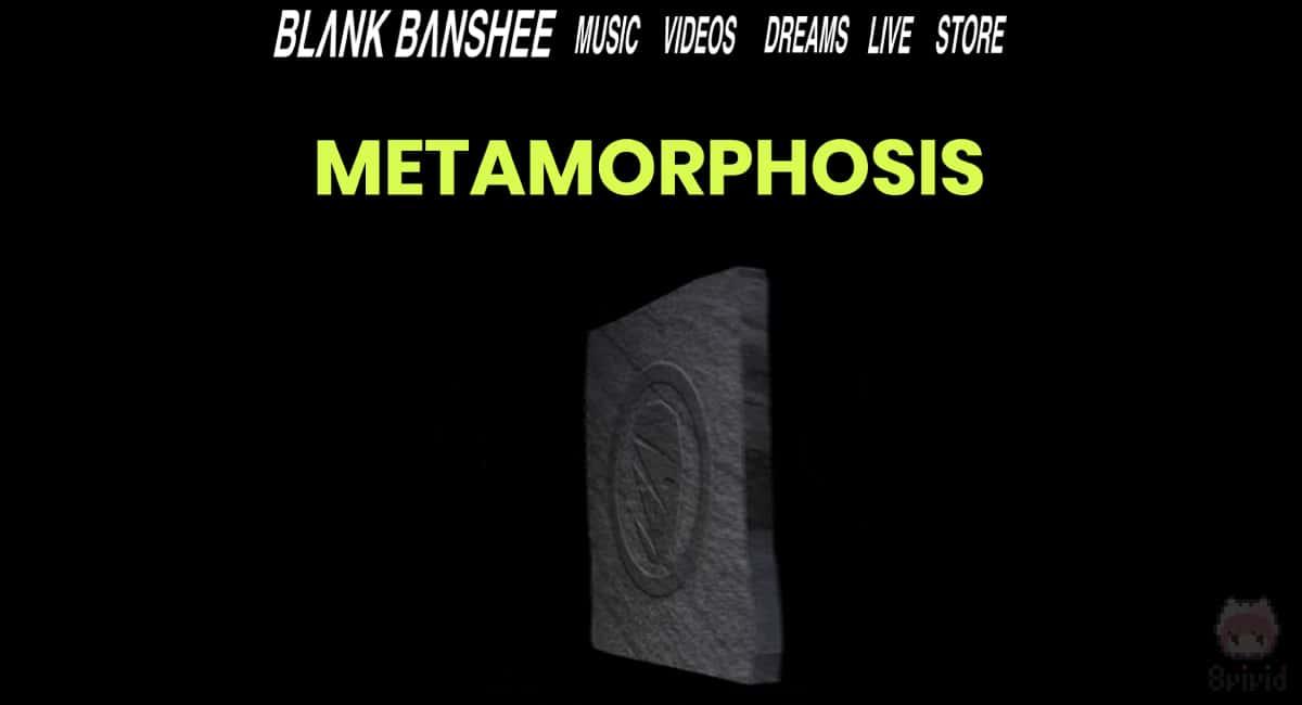 Blank BansheeのWebサイト。
