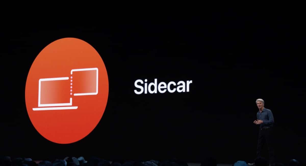 Sidecar:Mac画面ミラーリング機能