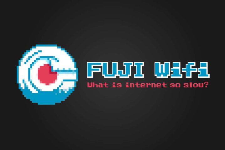 "FUJI Wifiが遅い?""爆速""に戻す4つの確認ポイント"