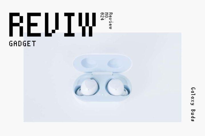 【レビュー】Samsung『Galaxy Buds』—Qi対応AKGチューニングの完全ワイヤレスイヤホン