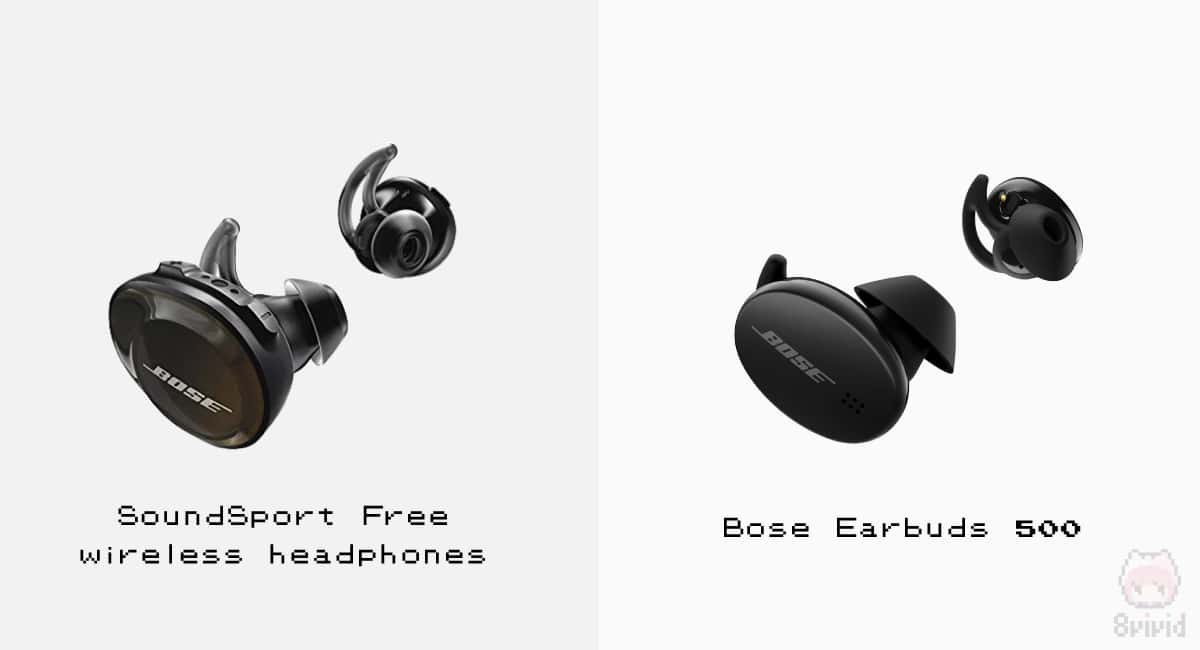 Bose Earbuds 500は、現行機種と比べてもかなりスリム。