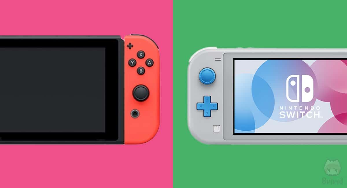 各Switchのサイズ比較