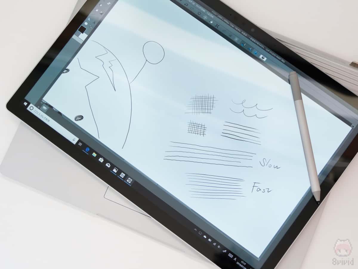 SurfaceシリーズはMPPなのでジッターが…。