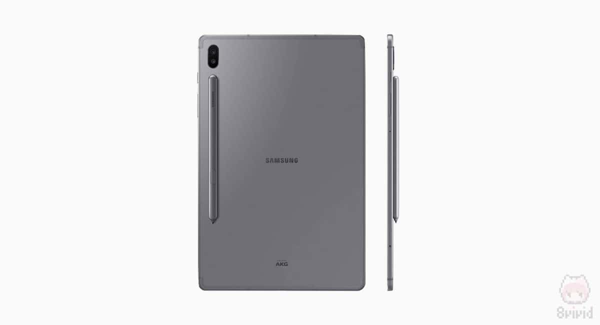 Galaxy Tab S6のS Penは要充電。