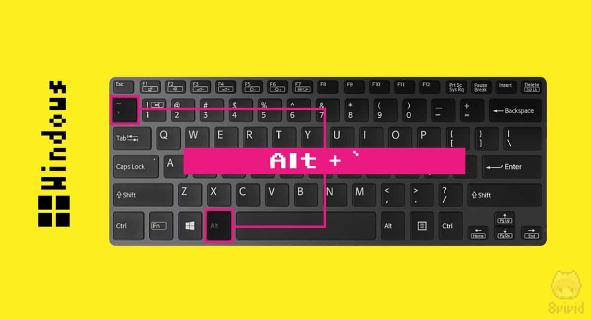 US配列 × Windows 10 では、Altと`の同時押しでIME切り替え。