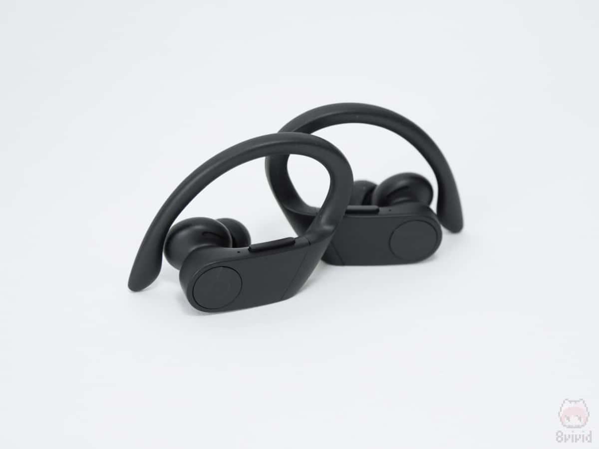 耳掛けタイプなので、外音取り込み機能が欲しかった。