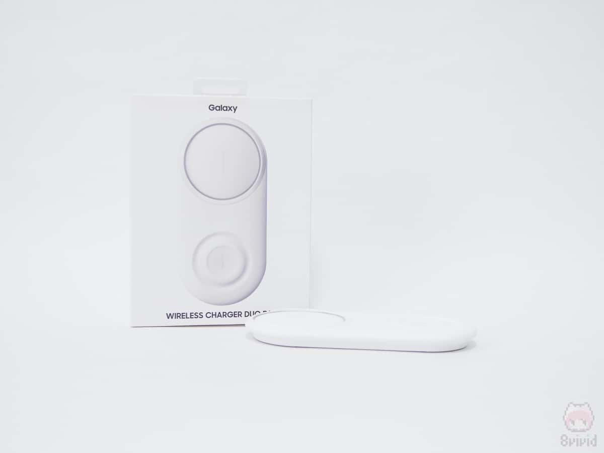 Samsung『Wireless Charger Duo Pad』全体画像。