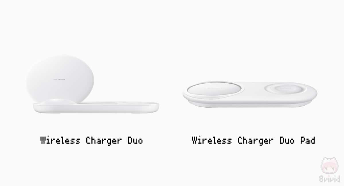 Wireless Charger DuoとWireless Charger Duo Pad。