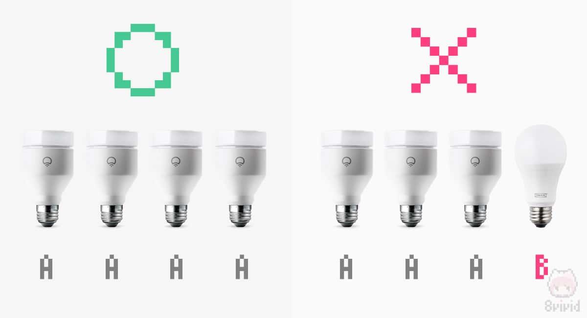 スマート電球はメーカーを統一させるべき