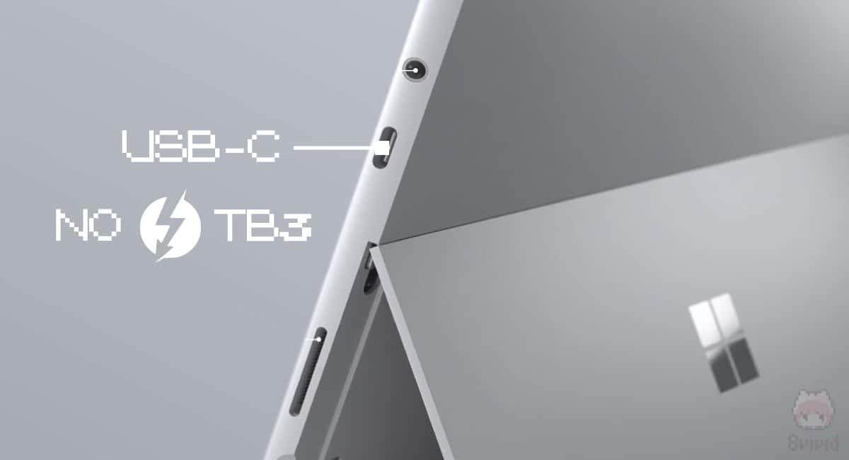 Surface Pro 7(2019)は、ついにUSB Type-C搭載か。