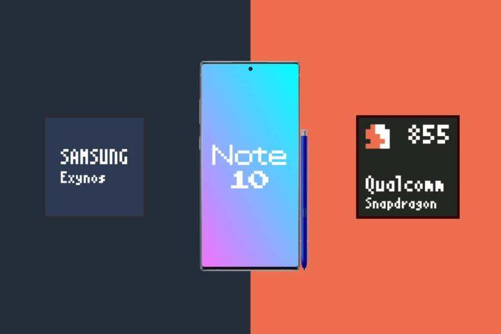 Galaxy Note10搭載SoC『Exynos 9825』『Snapdragon 855』比較。買うなら…スナドラだ!