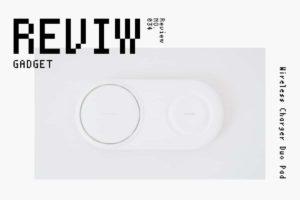 【レビュー】Samsung『Wireless Charger Duo Pad』—2台同時&急速充電のQiな最高傑作