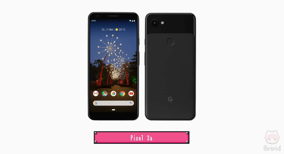 【1】Google『Pixel 3a』|おすすめ