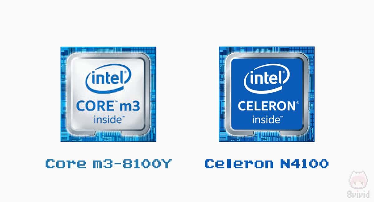 CPUは2種類から選択可能。