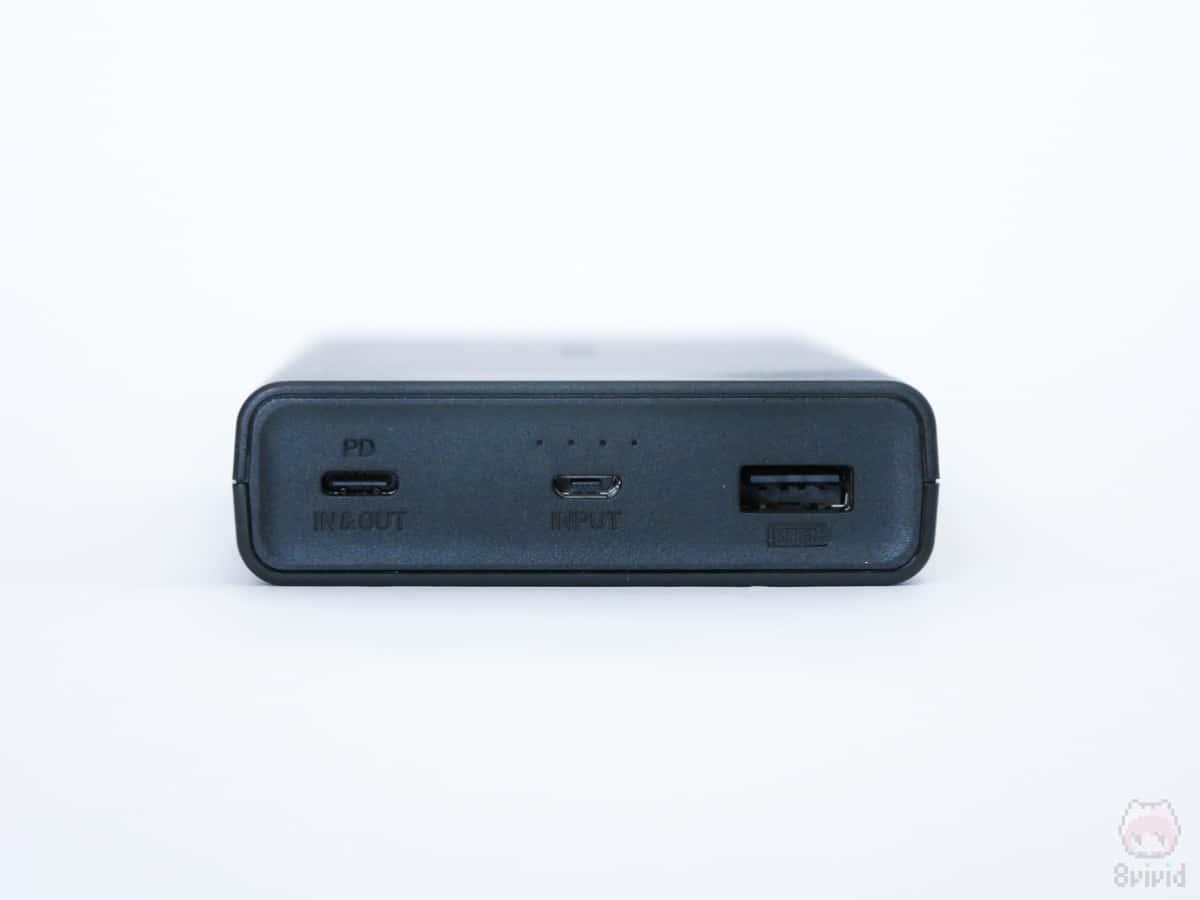 USB Type-A端子が2つなら完璧だった。