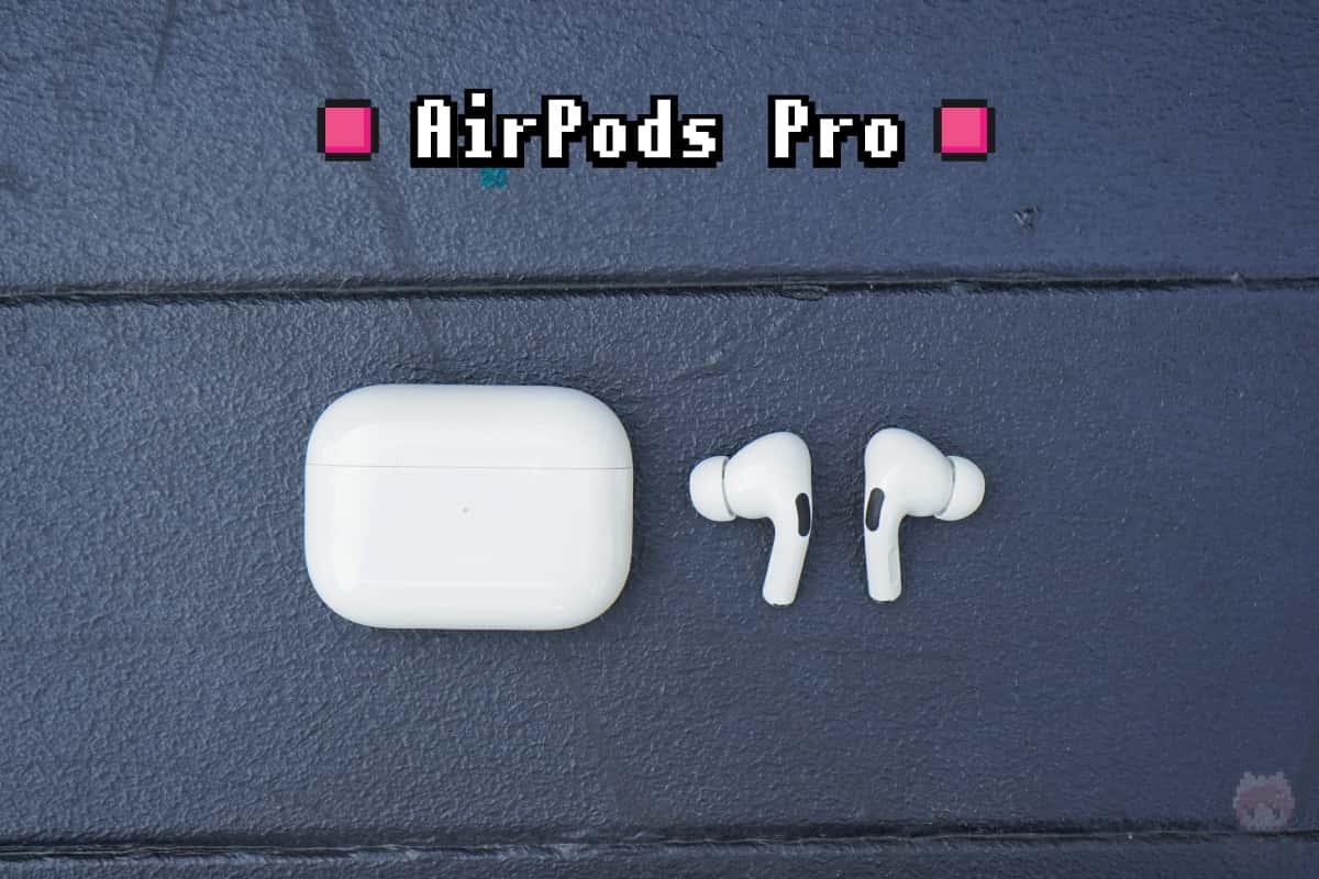 Apple『AirPods Pro』全体画像。