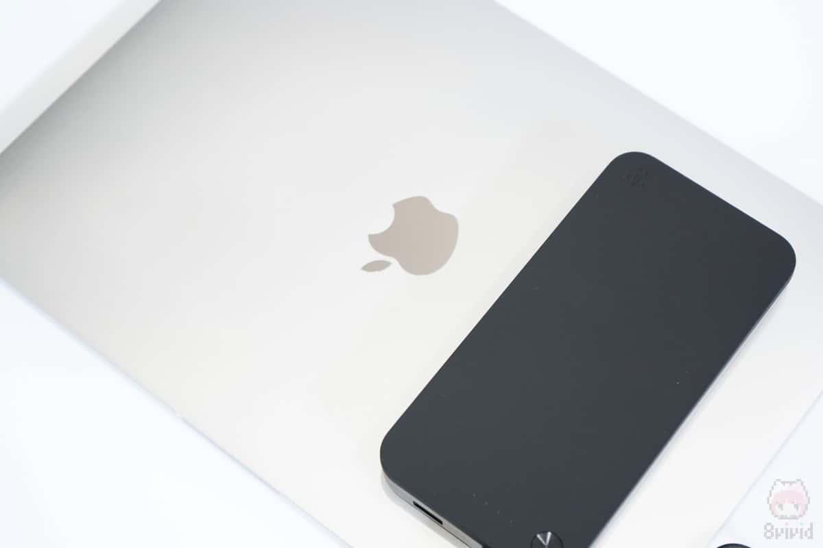 MacBook Pro 13″でもちゃんと充電できた!