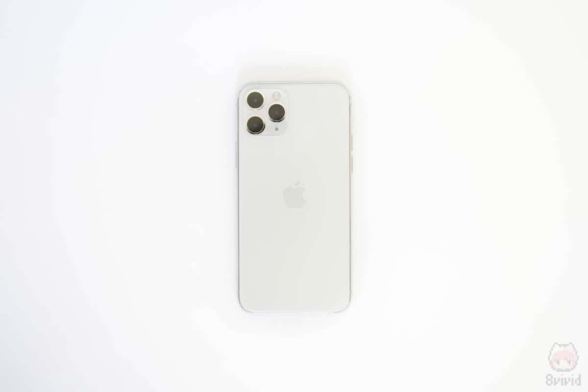 iPhone 11 Pro裏面。