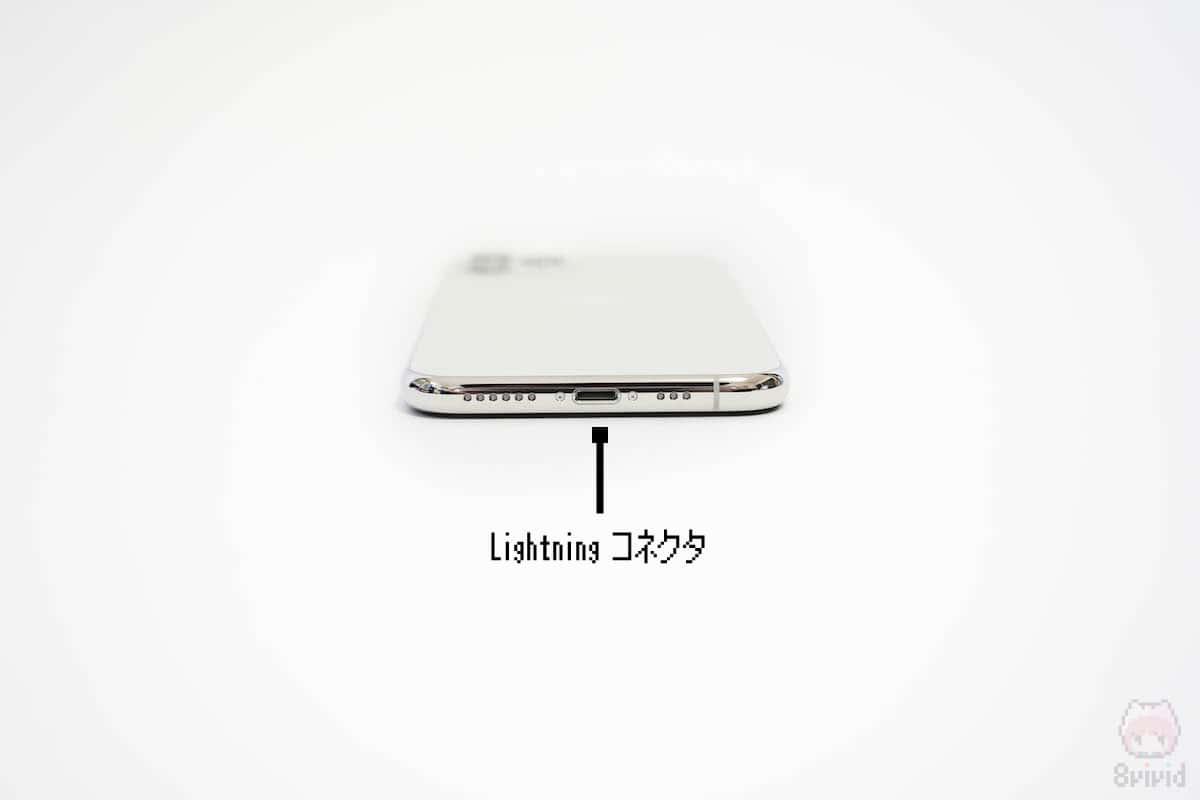 iPhone 11 Pro下側面。