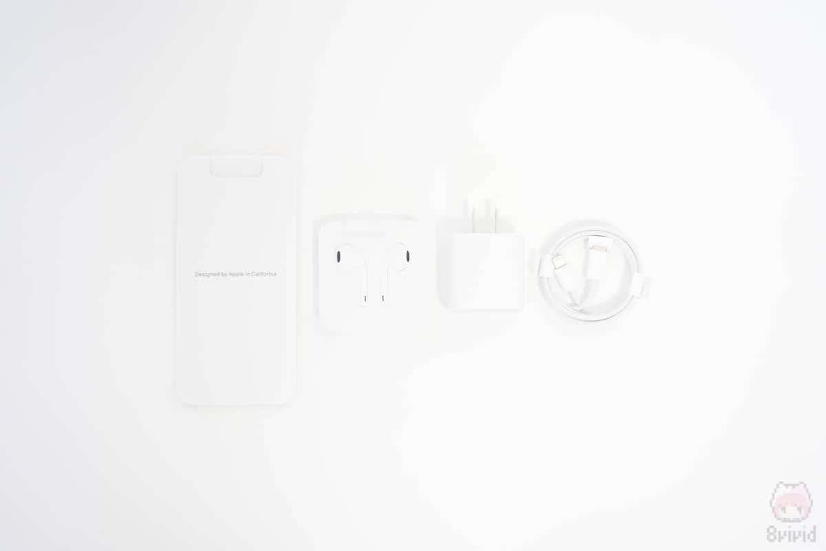 iPhone 11 Pro付属品一覧。